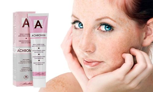 Ахромин от пигментных пятен