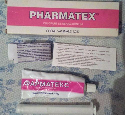 Крем Фарматекс с инструкцией