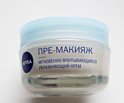 Увлажняющий крем Нивея под макияж