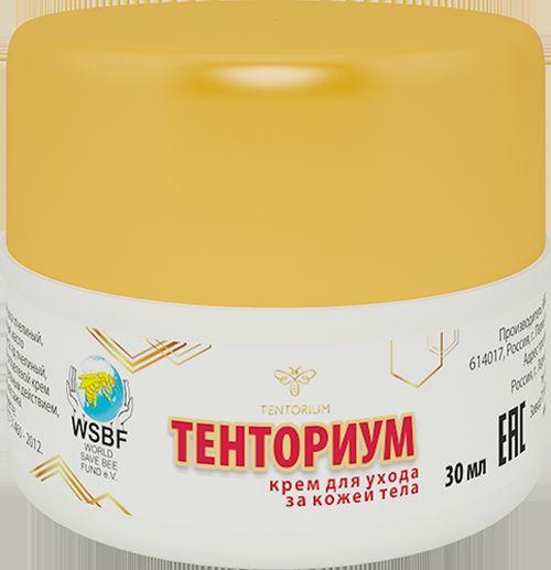 Крем на основе пчелиного яда Тенториум