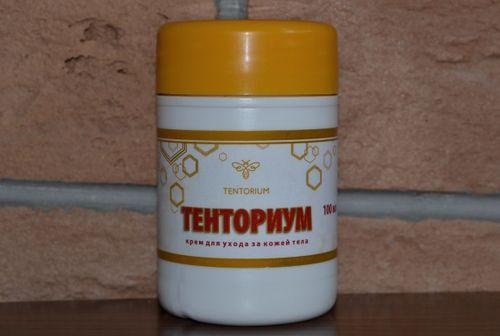 Крем на основе пчелиного яда Тенториум массажный
