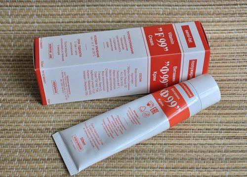 Обзор полужирного крема Витамин Ф99