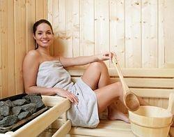 Применение крема в бане