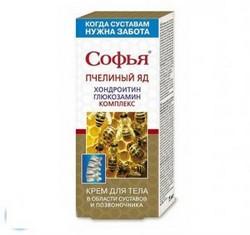 Обзор крема Софья с пчелиным ядом для лечения суставов