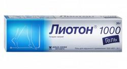 Крем-гель «Лиотон 1000»